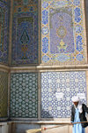 Afghanistan - Herat - Friday Mosque - tiles - photo by E.Andersen