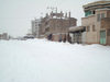 Herat, Afghanistan: snow covered street - winter scene - photo by N.Zaheer