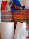 Herat, Afghanistan: Gulbarg paper products, made in Herat by the Negaristan company - photo by N.Zaheer
