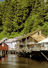 Alaska - Ketchikan: houses on the water (photo by A.Walkinshaw)