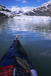 Alaska - Glacier bay - kayaking in front of Margerie glacier - photo by E.Petitalot