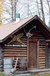 Alaska - Talkeetna: Headquarters of the Talkeetna Historical Society (photo by F.Rigaud)