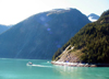 Alaska's Inside Passage - Tracy Arm Fjord: small boat (photo by Robert Ziff)