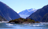 Alaska's Inside Passage - Tracy Arm Fjord : islet near the South Sawyer Glacier (photo by Robert Ziff)