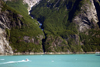 Alaska's Inside Passage - Tracy Arm Fjord: following the coast (photo by Robert Ziff)