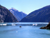 Alaska's Inside Passage - Tracy Arm Fjord: noon on the fjord (photo by Robert Ziff)