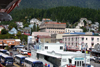 Alaska - Ketchikan: the docks area (photo by Robert Ziff)