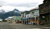 Alaska - Skagway: main street (photo by Robert Ziff)