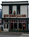 Alaska - Skagway: Red Onion saloon (photo by Robert Ziff)