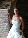 Durres / Drach, Albania: a bride - photo by J.Kaman