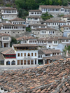 Berat, Albania: typical architecture in the UNESCO World Heritage City of Berat - photo by J.Kaman