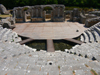 Butrint, Sarandë, Vlorë County, Albania: the Roman theatre from the last row - UNESCO World Heritage Site - photo by J.Kaman