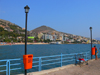 Sarandë / Saranda, Vlorë County, Albania: view of the waterfront - photo by J.Kaman