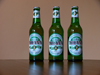 Albania: bottles of Albanian beer 'Tirana' - birra - photo by J.Kaman