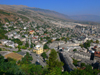 Gjirokaster, Albania: from above - view from the citadel - UNESCO World Heritage Site - photo by J.Kaman