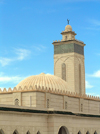 Algeria / Algerie - Sidi Okba - wilaya de Biskra: Mosque - dome and minaret / Mosquee - Islam - photo by J.Kaman