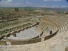 Algeria / Algerie - Timgad: the Roman theatre - UNESCO World Heritage - photo by J.Kaman