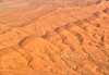 Biskra, Algeria / Alg�rie: Biskra wilaya: erosion patterns in the desert - from the air - photo by M.Torres | effets de l'�rosion dans le d�sert - vue du ciel