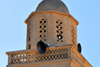 Biskra, Algeria / Alg�rie: balcony on a minaret - photo by M.Torres |  balcon sur un minaret