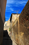 Algeria / Algérie - Bejaia / Bougie / Bgayet - Kabylie: dead-end in the kasbah | casbah - impasse - photo by M.Torres