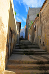 Algeria / Algérie - Bejaia / Bougie / Bgayet - Kabylie: narrow street in the kasbah | casbah - ruelle - photo by M.Torres