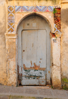 Algeria / Alg�rie - Bejaia / Bougie / Bgayet - Kabylie: old decorated entrance - kasbah | entr�e avec vieux d�coration - casbah - photo by M.Torres