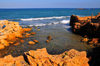 Tipaza, Alg�rie: small cove east of the port | petite anse - photo par M.Torres