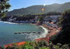 Boumachou - wilaya de Tipaza, Algérie: – beach and small cove, along the W109 road | plage et petite anse, le long de la route W109 - photo par M.Torres