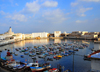 Algiers / Alger - Algeria: Admiralty basin and Fishing harbour| Darse de l'Amiraut� et Port de P�che - photo by M.Torres