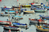Algiers / Alger - Algeria: small boats - fishing harbour| petits bateaux - Port de P�che - photo by M.Torres