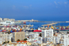 Algiers / Alger - Algeria: southern part of the city and the port - panorama | partie sud de la ville et le port - vue panoramique - photo by M.Torres