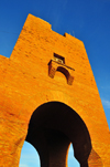Sidi Fredj  / Sidi-Ferruch - Alger wilaya - Algeria: red brick tower | tour rouge - photo by M.Torres