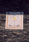 Andorra la Vella: sun dial  - just after noon - placeta de Sant Esteve - Rellotge de sol - Barri Antic - photo by M.Torres