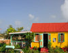 The Valley, Anguilla: the Roti Hut - Caribbean style restaurant, serving Creole roti and a mean BBQ of ribs - photo by M.Torres