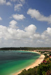 Sandy Ground, Anguilla: the town, Road Bay and Road Salt Pond - photo by M.Torres