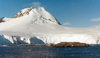 Petermann Island, Antarctica: ice covered peak - photo by G.Frysinger