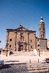 Aragon - Zaragoza: Church of San Juan de los Panetes - Plaza de Cesar Augusto (photo by M.Torres)