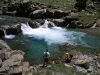 Aragon - Ordesa national park - Pyrenees: river pool (photo by R.Wallace)