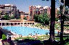 Aragon - Zaragoza / Saragossa / ZAZ: summer in the city - swimming pool - Paseo Mariano Renovales (photo by M.Torres)
