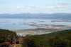 Argentina - Ushuaia - Tierra del Fuego: view from Monte Martial / Mt Martial / Mount Martial (photo by N.Cabana)