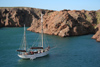 Argentina - Caleta Horno - Bahía Gil (Chubut Province): sailing boat 'Notre Dame des Flots' - photo by C.Breschi