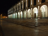 Argentina - Córdoba - Plaza San Martin Nocturnal - arches of the Cabildo - images of South America by M.Bergsma