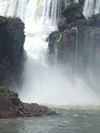 Argentina - Iguazu Falls - detail - images of South America by M.Bergsma