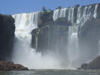 Argentina - Iguazu Falls - from the river - images of South America by M.Bergsma