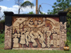 Argentina - Puerto Iguazu - Indian monument - images of South America by M.Bergsma