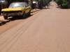 Argentina - Puerto Iguazu - the streets are red in Puerto Iguazu, some cars are yellow - images of South America by M.Bergsma