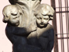 Argentina - Salta - Iglesia San Francisco -  sculpture - cherubs - images of South America by M.Bergsma