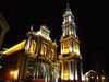 Argentina - Salta - Iglesia San Francisco - nocturnal - images of South America by M.Bergsma