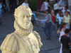 Argentina - Salta - statue - view from Museo Historico del Norte 'El Cabildo' - images of South America by M.Bergsma