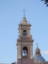 Argentina - Salta - The Cathedral - bell tower - images of South America by M.Bergsma